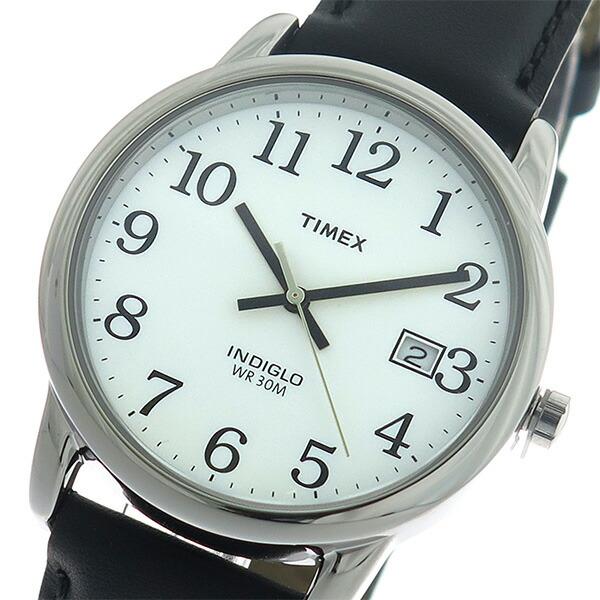 タイメックス TIMEX イージーリーダー EASY READER クオーツ ユニセックス 腕時計 T2H281 ホワイト/ブラック 【腕時計 海外インポート品】返品可 レビュー投稿で次回使える2000円クーポン全員にプレゼント