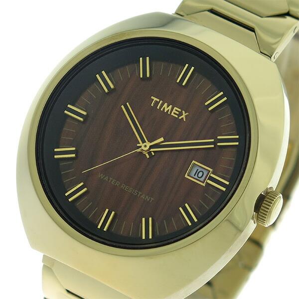 タイメックス TIMEX リミテッドエディション Limited Edition クオーツ ユニセックス 腕時計 T2N881 ウッド/ゴールド 【腕時計 海外インポート品】返品可 レビュー投稿で次回使える2000円クーポン全員にプレゼント