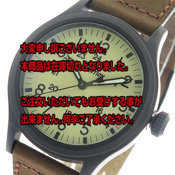 タイメックス TIMEX エクスペディション Expedition クオーツ メンズ 腕時計 T49963 アイボリー/ブラウン 【腕時計 海外インポート品】返品可 レビュー投稿で次回使える2000円クーポン全員にプレゼント