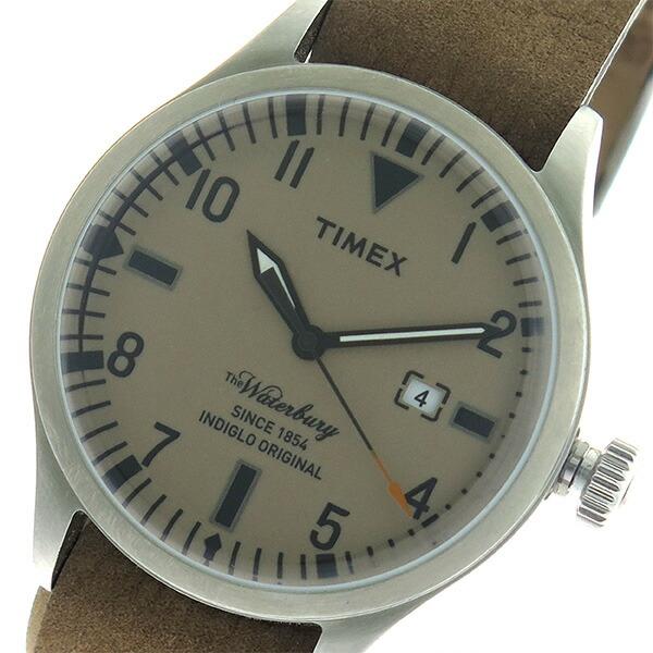 タイメックス TIMEX ウォーターベリー Waterbury クオーツ ユニセックス 腕時計 TW2P64600 ブラウン/ブラウン 【腕時計 海外インポート品】返品可 レビュー投稿で次回使える2000円クーポン全員にプレゼント