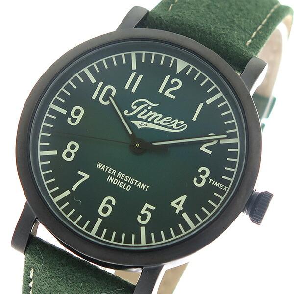 タイメックス TIMEX ウォーターベリー Waterbury クオーツ ユニセックス 腕時計 TW2P83300 グリーン/グリーン 【腕時計 海外インポート品】返品可 レビュー投稿で次回使える2000円クーポン全員にプレゼント