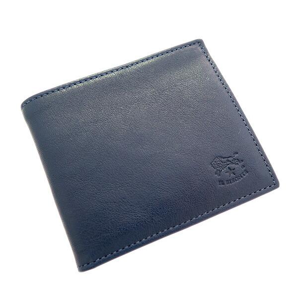 イルビゾンテ IL BISONTE 二つ折り財布 メンズ レディース C0487MP-866 ネイビー 411853 【財布・小物 財布】返品可 レビュー投稿で次回使える2000円クーポン全員にプレゼント