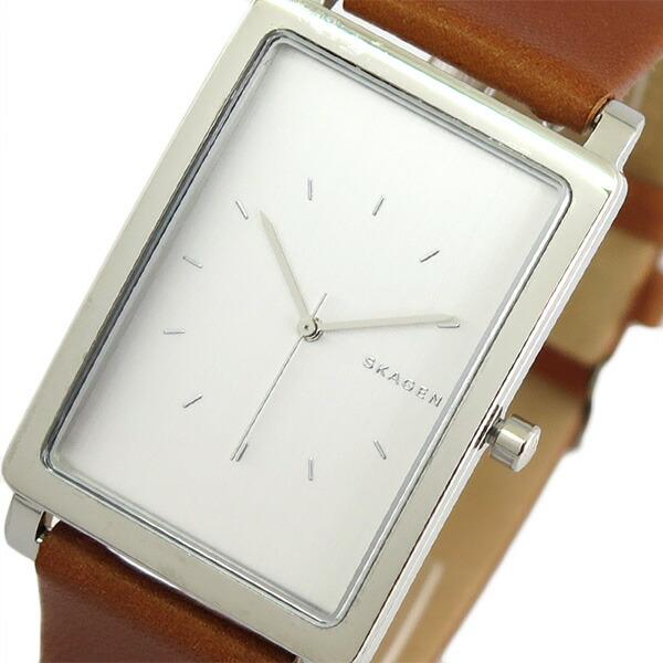 スカーゲン SKAGEN 腕時計 メンズ SKW6289 クォーツ シルバー ブラウン 【腕時計 海外インポート品】返品可 レビュー投稿で次回使える2000円クーポン全員にプレゼント