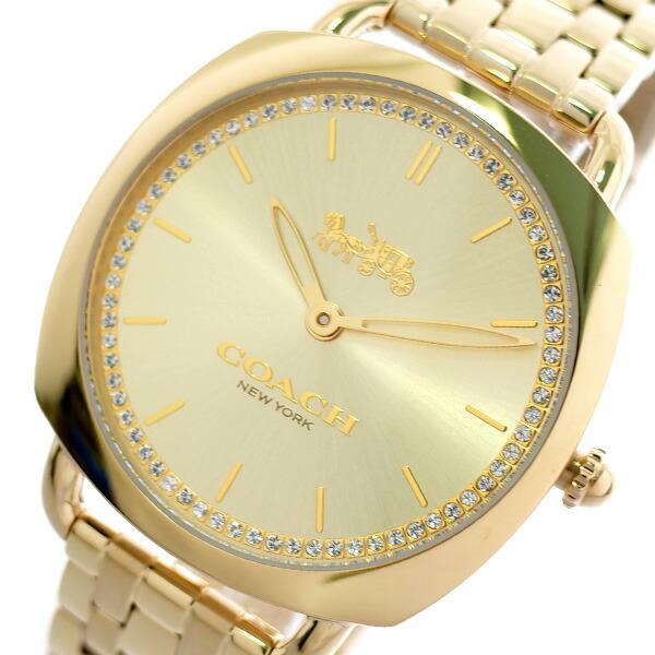 コーチ COACH 腕時計 レディース 14503011 グランド GRAND クォーツ ゴールド 【腕時計 海外インポート品】返品可 レビュー投稿で次回使える2000円クーポン全員にプレゼント