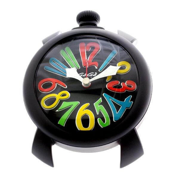 ガガミラノ GAGA MILANO 置き時計 9082.01 クォーツ ブラック 【インテリア 時計】返品可 レビュー投稿で次回使える2000円クーポン全員にプレゼント