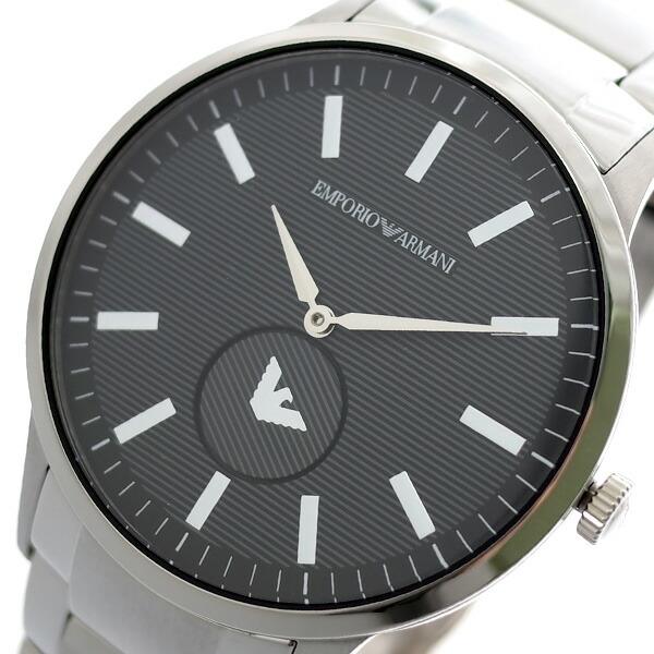 エンポリオアルマーニ EMPORIO ARMANI 腕時計 メンズ AR11118 クォーツ グレー シルバー 【腕時計 海外インポート品】返品可 レビュー投稿で次回使える2000円クーポン全員にプレゼント