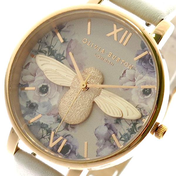 オリビアバートン OLIVIA BURTON 腕時計 レディース OB16PP41 クォーツ ライトベージュ 【腕時計 海外インポート品】返品可 レビュー投稿で次回使える2000円クーポン全員にプレゼント