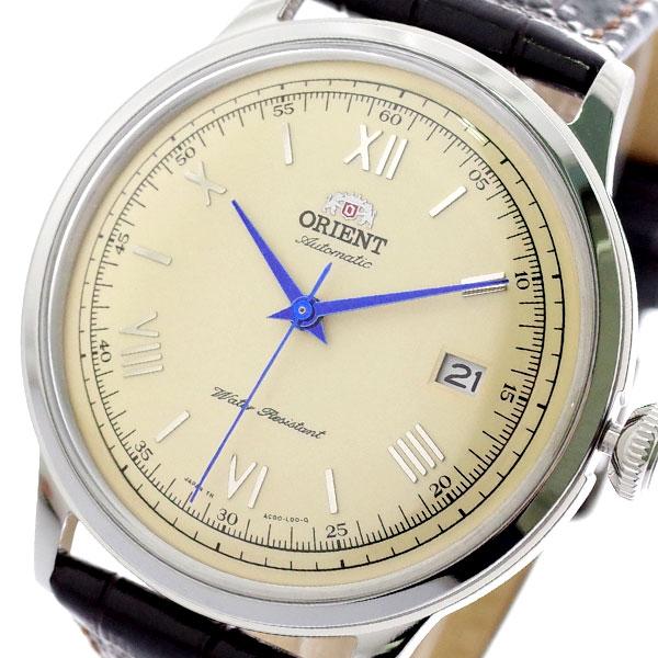 オリエント ORIENT 腕時計 メンズ SAC00009N0 FAC00009N0 自動巻き クリーム ダークブラウン 【腕時計 海外インポート品】返品可 レビュー投稿で次回使える2000円クーポン全員にプレゼント