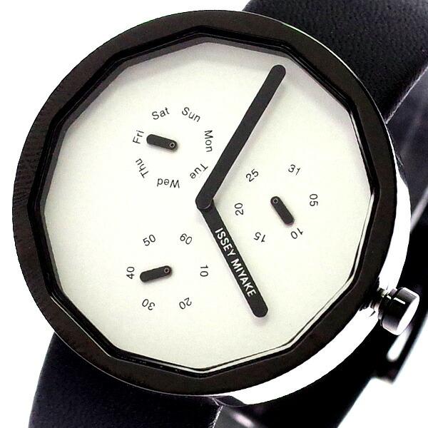 イッセイミヤケ ISSEY MIYAKE 腕時計 メンズ レディース SILAP008 トゥエルブ TWELVE 深澤直人デザインモデル クォーツ ホワイト ブラック 【腕時計 海外インポート品】返品可 レビュー投稿で次回使える2000円クーポン全員にプレゼント