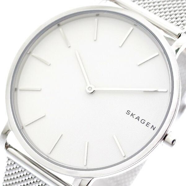 スカーゲン SKAGEN 腕時計 メンズ レディース SKW6442 クォーツ ホワイト シルバー 【腕時計 海外インポート品】返品可 レビュー投稿で次回使える2000円クーポン全員にプレゼント