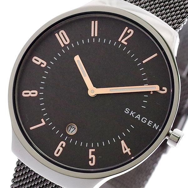 スカーゲン SKAGEN 腕時計 メンズ レディース SKW6460 GRENEN クォーツ グレー ガンメタ 【腕時計 海外インポート品】返品可 レビュー投稿で次回使える2000円クーポン全員にプレゼント