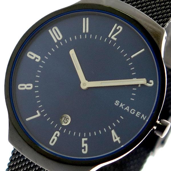 スカーゲン SKAGEN 腕時計 メンズ レディース SKW6461 クォーツ ネイビー ブラック 【腕時計 海外インポート品】返品可 レビュー投稿で次回使える2000円クーポン全員にプレゼント