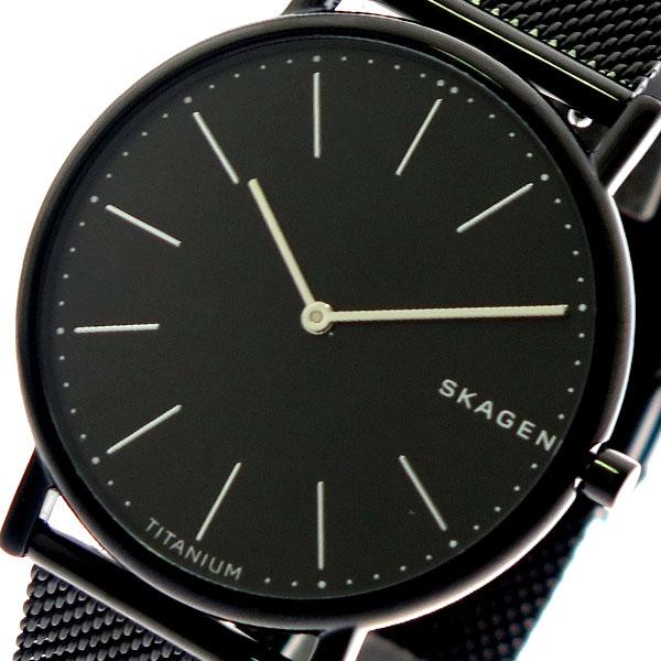 スカーゲン SKAGEN 腕時計 メンズ レディース SKW6484 クォーツ ブラック 【腕時計 海外インポート品】返品可 レビュー投稿で次回使える2000円クーポン全員にプレゼント