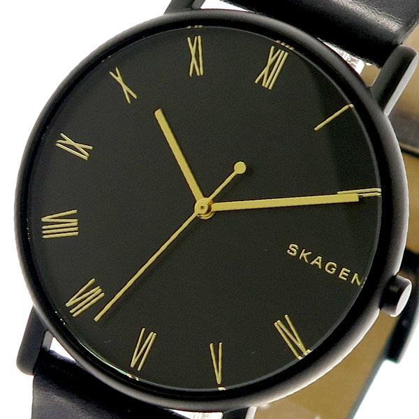 スカーゲン SKAGEN 腕時計 メンズ レディース SKW6489 クォーツ ブラック 【腕時計 海外インポート品】返品可 レビュー投稿で次回使える2000円クーポン全員にプレゼント