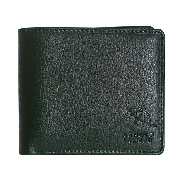 アーノルドパーマー ARNOLD PALMER ベラ付き 二つ折り 短財布 4AP3141-GR グリーン 【財布・小物 財布】
