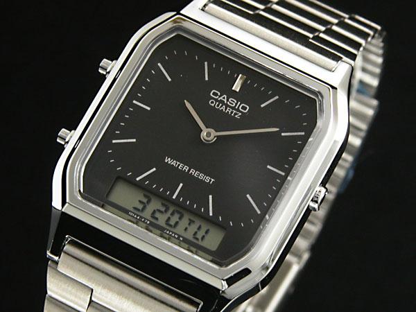 カシオ CASIO アナデジ 腕時計 AQ230A-1 【腕時計 海外インポート品】