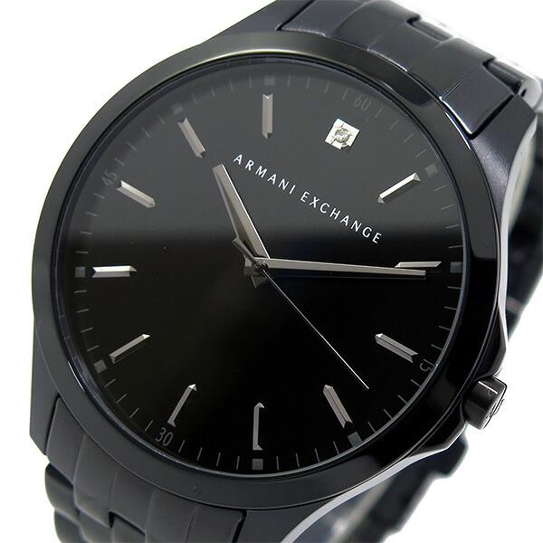アルマーニ エクスチェンジ クオーツ メンズ 腕時計 AX2159 ブラック 【腕時計 海外インポート品】返品可 レビュー投稿で次回使える2000円クーポン全員にプレゼント