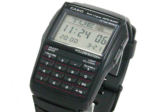 カシオ CASIO データバンク DATA BANK 腕時計 DBC32-1A 【腕時計 海外インポート品】