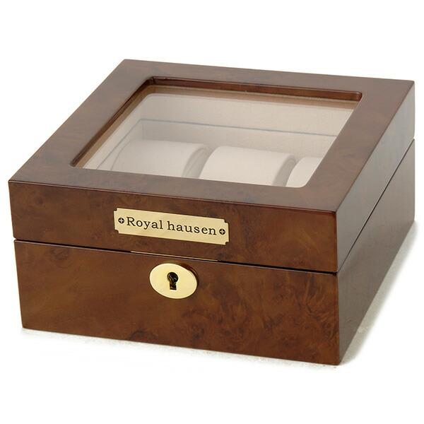 ロイヤル ハウゼン 6本収納 腕時計収納ケース GC02-LG3-06 【腕時計 腕時計関連用品】返品可 レビュー投稿で次回使える2000円クーポン全員にプレゼント