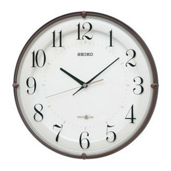 セイコー SEIKO 衛星電波クロック 掛け時計 GP216B ホワイト 【インテリア 時計】返品可 レビュー投稿で次回使える2000円クーポン全員にプレゼント