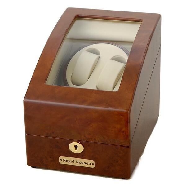 ロイヤル ハウゼン ワインダー ワインディングマシーン 2本巻き 3本収納 GC03-S31 【腕時計 腕時計関連用品】返品可 レビュー投稿で次回使える2000円クーポン全員にプレゼント