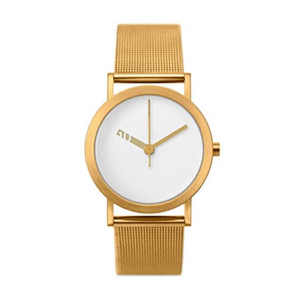 ピーオーエス POS ノーマル EXTRA NORMAL クオーツ メンズ 腕時計 NML020026(EN-M007) ホワイト/ゴールド 【 】返品可 レビュー投稿で次回使える2000円クーポン全員にプレゼント