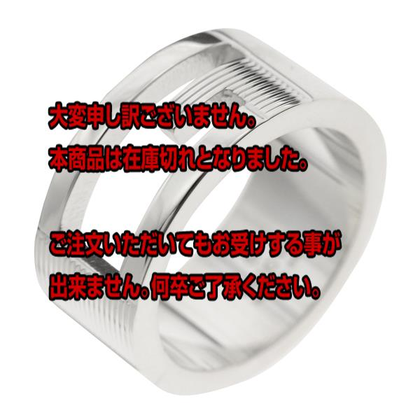グッチ GUCCI ユニセックス リング 指輪 JP21号 032660-09840/8106/22 シルバー 【アクセサリー 指輪】返品可 レビュー投稿で次回使える2000円クーポン全員にプレゼント