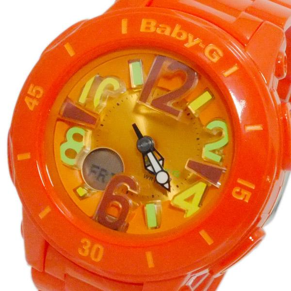 カシオ CASIO ベビーG デジアナ レディース 腕時計 BGA-171-4B2 オレンジ 【腕時計 海外インポート品】返品可 レビュー投稿で次回使える2000円クーポン全員にプレゼント
