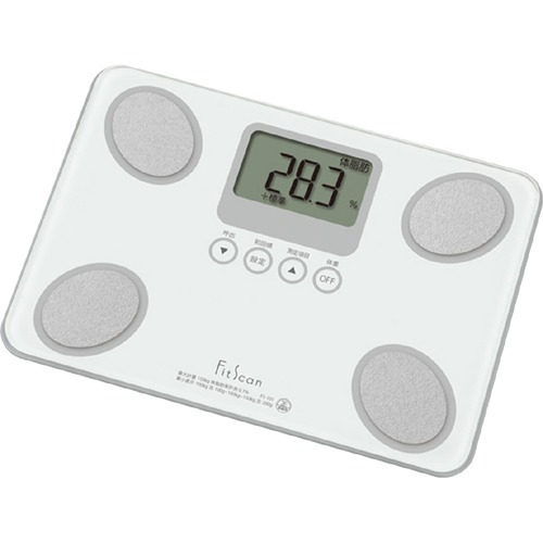 10000円以上送料無料 タニタ 体組成計 フィットスキャン ホワイト FS-101-WH(1台) 家電 測定器 体脂肪計・体重計 レビュー投稿で次回使える2000円クーポン全員にプレゼント