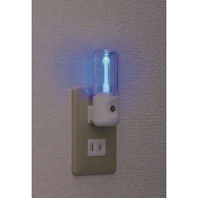 レビュー投稿で次回使える2000円クーポン全員にプレゼント YAZAWA(ヤザワ) センサーナイトライト 青色LED×1灯 NL30BL 【生活家電\ナイトライト\LEDナイトライト\センサー付き】