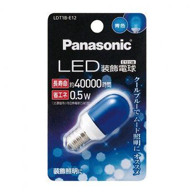 レビュー投稿で次回使える2000円クーポン全員にプレゼント パナソニック EVERLEDS LED装飾電球: 0.5W(青色相当) LDT1BE12 【生活家電\LEDランプ\LED電球】