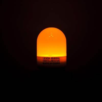 レビュー投稿で次回使える2000円クーポン全員にプレゼント YAZAWA(ヤザワ) 3LED常夜灯 E12 橙 10本セット LE3OR-10SET 【生活家電\LEDランプ\LED電球】