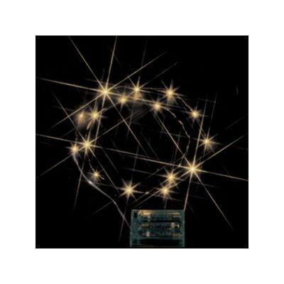 レビュー投稿で次回使える2000円クーポン全員にプレゼント ジェフコム LEDミニストリングライト 電池式 電球色 STM-G01L 【生活家電\照明器具・部材\照明器具\イルミネーションライト\LEDストリング】