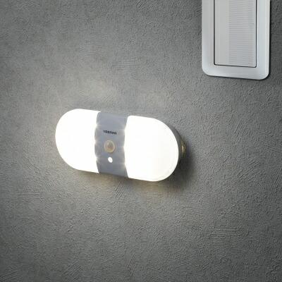 レビュー投稿で次回使える2000円クーポン全員にプレゼント YAZAWA(ヤザワ) ナイトライト 人感・明暗 乾電池式置き型 NBSMN15WH 【生活家電\ナイトライト\LEDナイトライト\乾電池式】