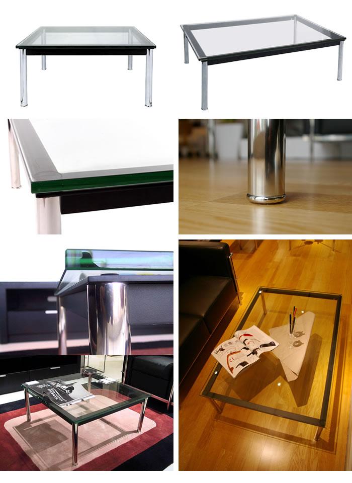 ル・コルビジェ デザイナーズ家具  リプロダクト ミッドセンチュリー 北欧 ローテーブル リビングテーブル