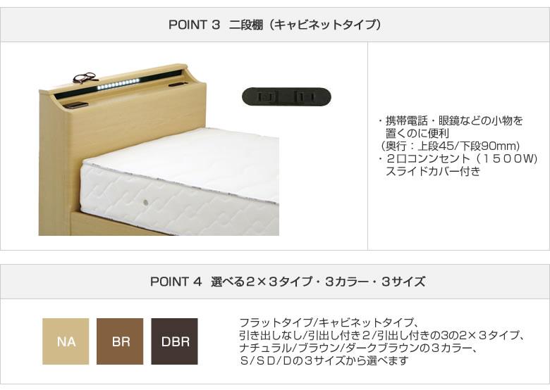 シンプル フルオープンスライドレール式BOX引出し 3色展開