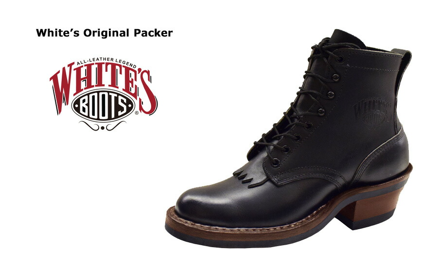 Mechanic Work Boots >> Earth Market: WHITE'S BOOTS whites boots original packing ORIGINAL PACKER work boots leather ...
