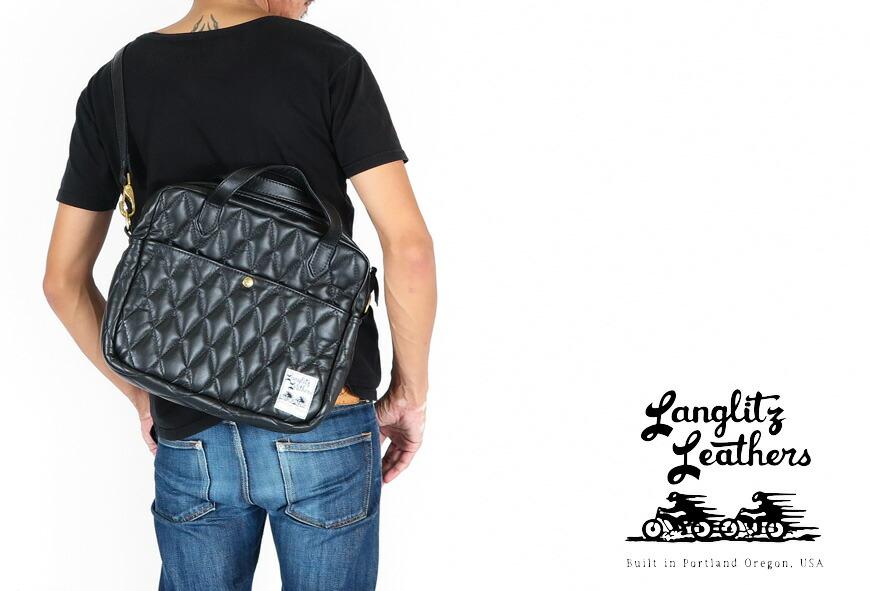 ラングリッツ・レザーズ Langlitz Leathers クリスティバッグ Christy Bag