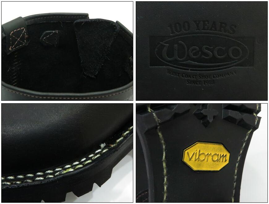 WESCO ウエスコ BOSS 7700 エンジニアブーツ 11inch ブラック