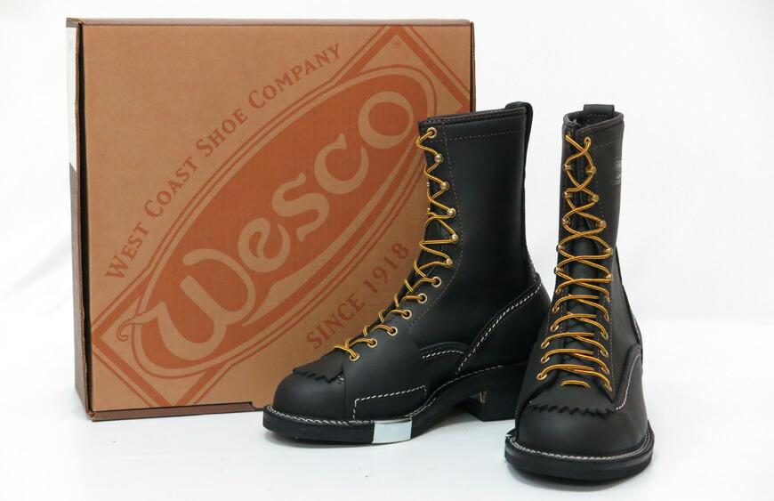 WESCO ウエスコ JOBMASTER Black Steel Toe ジョブマスター スティールトゥ 8inch