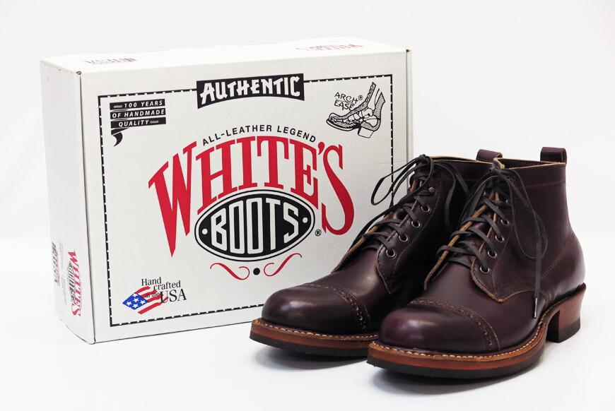 WHITE'S BOOTS ホワイツブーツ セミドレス ホーウィン・クロムエクセルレザー・バーガンディ SEMI DRESS