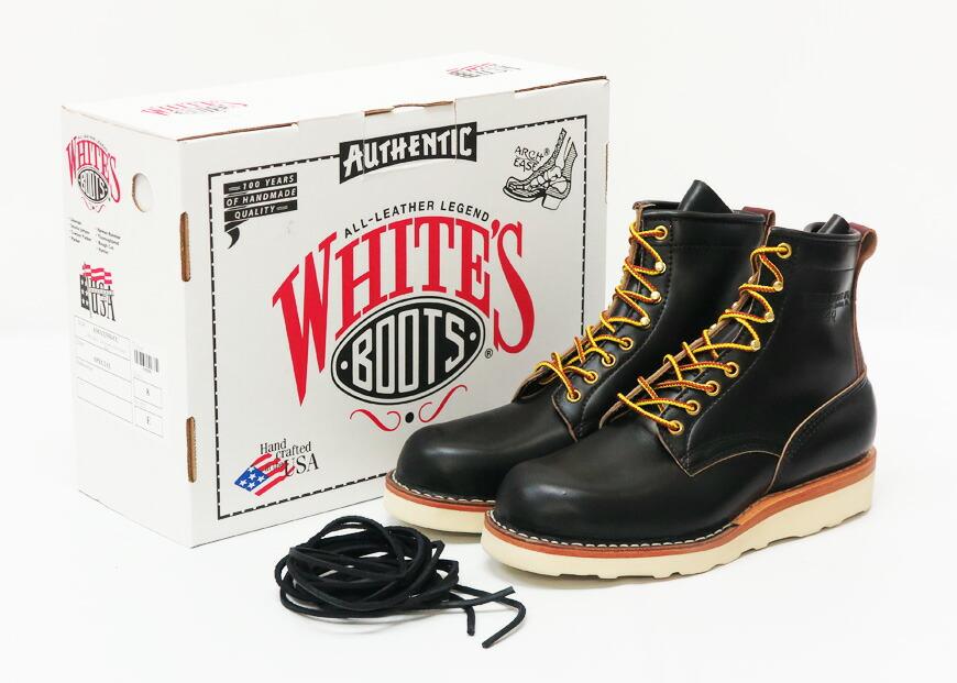 WHITE'S BOOTS ホワイツブーツ 4Q FOREMAN ブーツ HORWEEN クロムエクセル ブラック×バーガンディ