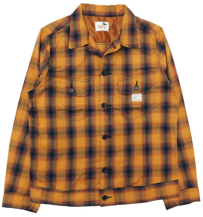 GANGSTERVILLE ギャングスタービル レーヨンコットン CPOシャツジャケット JACK