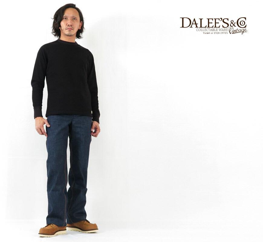 DALLES & CO ダリーズ&コー 10'S アンティーク サーマル スウェット