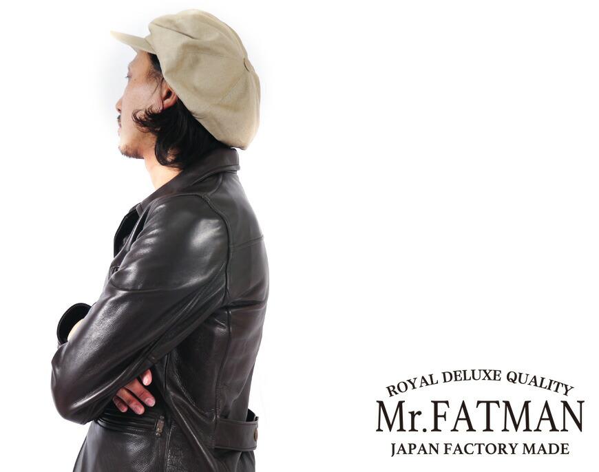 Mr.FATMAN ミスターファットマン ジョニーキャスケット THE FAT HATTER