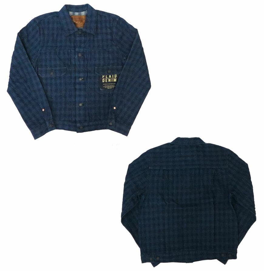 STUDIO D'ARTISAN ミスターレイルロード ヒッコリーストライプ 長袖ワークシャツ 5617