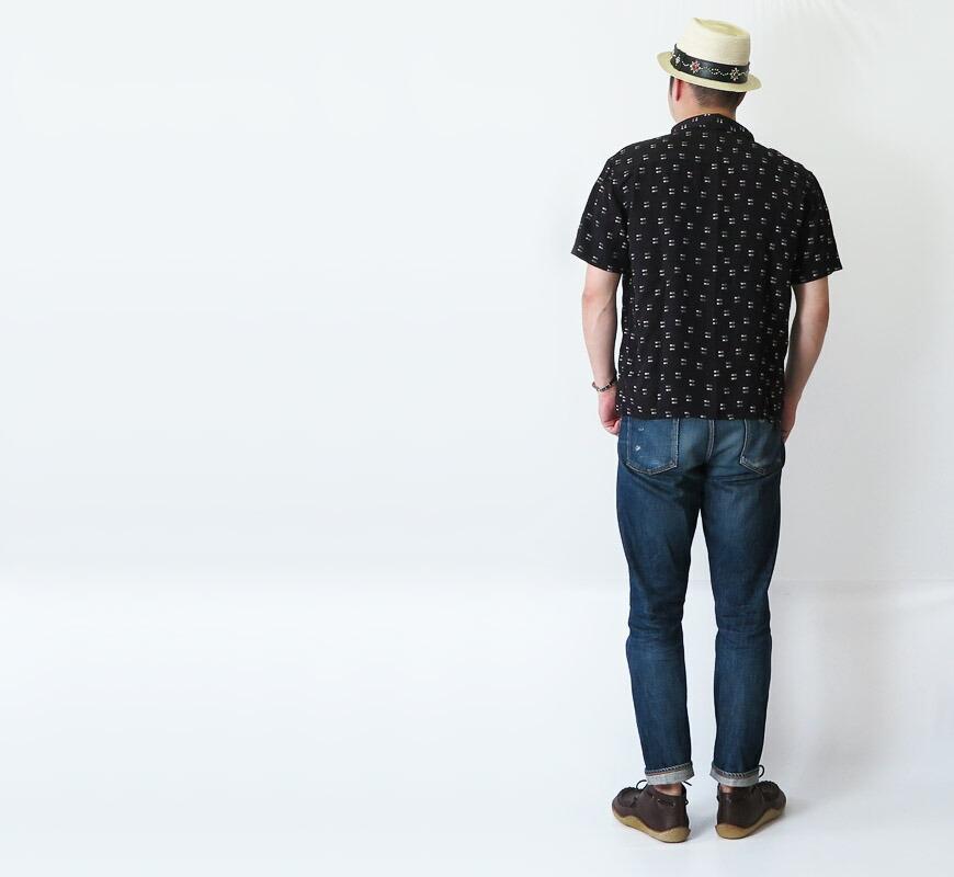 THE FLAT HEAD 半袖Tシャツ THCシリーズ STEADY BLUE THC-220