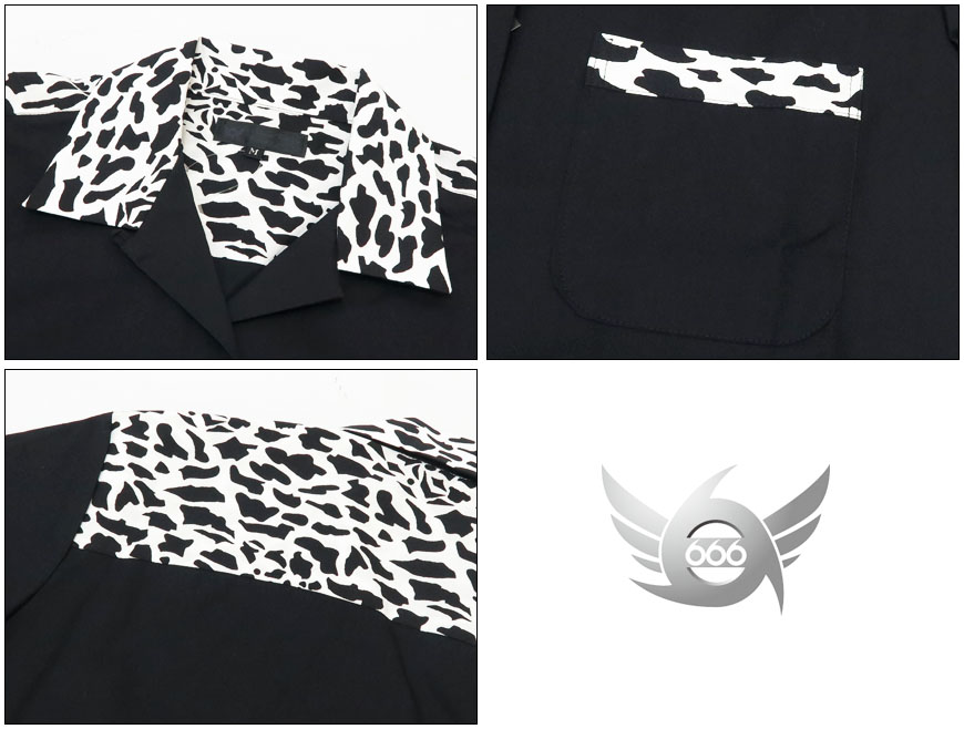 666 半袖バンドTシャツ
