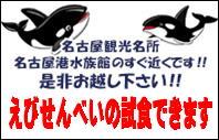 名古屋観光名所、名古屋港水族館のすぐ近く!全品試食OK!!