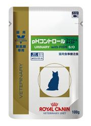 猫用pHコントロール フィッシュテイスト ウェット パウチの写真